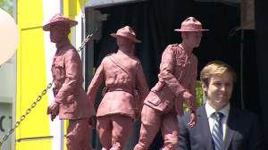 Memorial unveiled honouring Moncton RCMP heroes